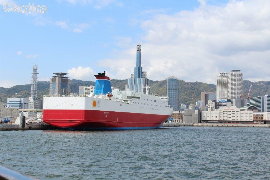 海上 外国船