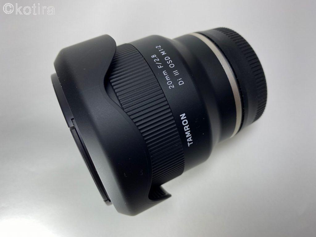 TAMRON 20mm F/2.8 Model F050 2
