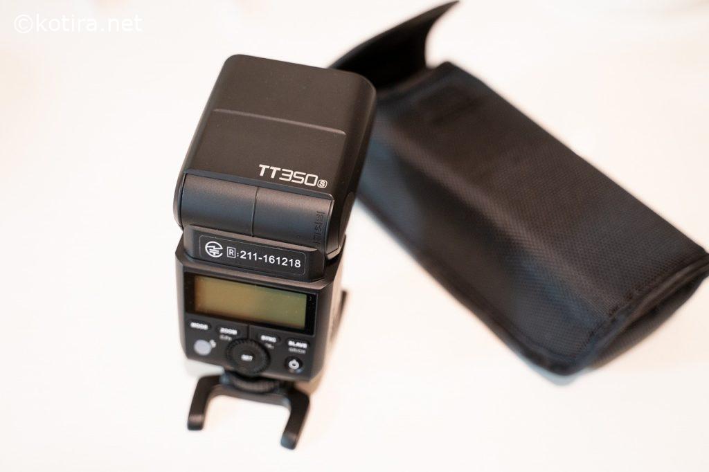 TT350s クリップオンストロボの2